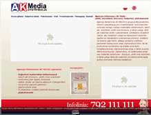 Tablet Preview of akmedia.com.pl